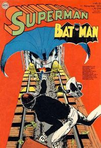 Cover Thumbnail for Superman (Egmont Ehapa, 1966 series) #23/1972