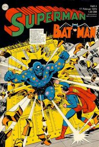 Cover Thumbnail for Superman (Egmont Ehapa, 1966 series) #4/1973