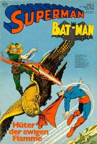 Cover Thumbnail for Superman (Egmont Ehapa, 1966 series) #8/1973