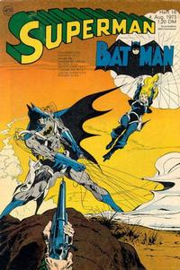 Cover Thumbnail for Superman (Egmont Ehapa, 1966 series) #16/1973