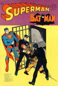 Cover Thumbnail for Superman (Egmont Ehapa, 1966 series) #17/1973
