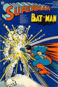 Cover Thumbnail for Superman (Egmont Ehapa, 1966 series) #23/1973