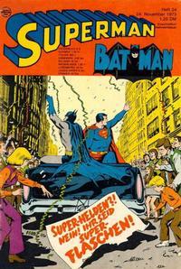 Cover Thumbnail for Superman (Egmont Ehapa, 1966 series) #24/1973