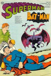 Cover Thumbnail for Superman (Egmont Ehapa, 1966 series) #25/1973