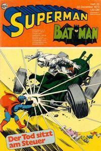 Cover Thumbnail for Superman (Egmont Ehapa, 1966 series) #26/1973