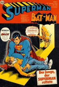 Cover Thumbnail for Superman (Egmont Ehapa, 1966 series) #2/1974