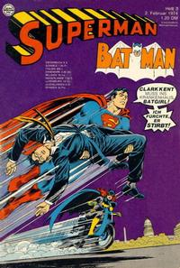 Cover Thumbnail for Superman (Egmont Ehapa, 1966 series) #3/1974