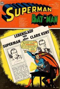 Cover Thumbnail for Superman (Egmont Ehapa, 1966 series) #7/1974