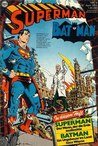 Cover Thumbnail for Superman (Egmont Ehapa, 1966 series) #9/1974