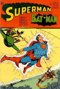 Cover for Superman (Egmont Ehapa, 1966 series) #11/1974