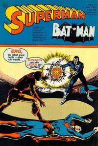 Cover Thumbnail for Superman (Egmont Ehapa, 1966 series) #12/1974