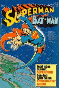 Cover Thumbnail for Superman (Egmont Ehapa, 1966 series) #16/1974
