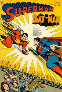 Cover Thumbnail for Superman (Egmont Ehapa, 1966 series) #2/1975