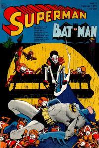 Cover Thumbnail for Superman (Egmont Ehapa, 1966 series) #3/1975