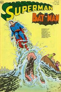 Cover Thumbnail for Superman (Egmont Ehapa, 1966 series) #12/1975
