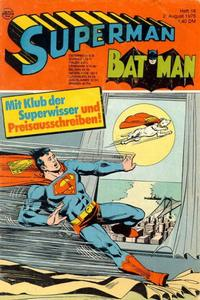 Cover Thumbnail for Superman (Egmont Ehapa, 1966 series) #16/1975