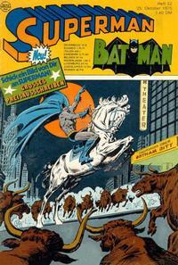 Cover Thumbnail for Superman (Egmont Ehapa, 1966 series) #22/1975