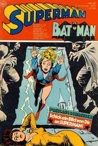 Cover Thumbnail for Superman (Egmont Ehapa, 1966 series) #23/1975