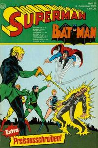Cover Thumbnail for Superman (Egmont Ehapa, 1966 series) #25/1975