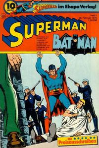 Cover Thumbnail for Superman (Egmont Ehapa, 1966 series) #5/1976