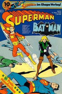 Cover Thumbnail for Superman (Egmont Ehapa, 1966 series) #6/1976