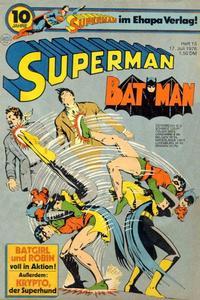 Cover Thumbnail for Superman (Egmont Ehapa, 1966 series) #15/1976