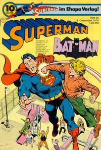 Cover Thumbnail for Superman (Egmont Ehapa, 1966 series) #26/1976