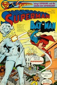 Cover for Superman (Egmont Ehapa, 1966 series) #2/1977