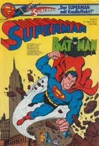 Cover Thumbnail for Superman (Egmont Ehapa, 1966 series) #8/1977
