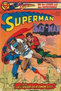 Cover Thumbnail for Superman (Egmont Ehapa, 1966 series) #9/1977