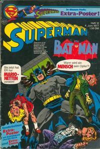 Cover Thumbnail for Superman (Egmont Ehapa, 1966 series) #12/1977