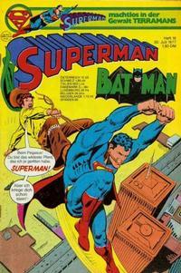 Cover Thumbnail for Superman (Egmont Ehapa, 1966 series) #16/1977