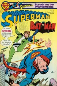 Cover Thumbnail for Superman (Egmont Ehapa, 1966 series) #18/1977