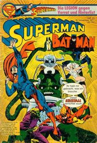 Cover Thumbnail for Superman (Egmont Ehapa, 1966 series) #24/1977