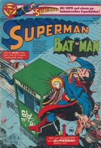 Cover Thumbnail for Superman (Egmont Ehapa, 1966 series) #26/1977