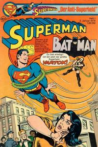 Cover Thumbnail for Superman (Egmont Ehapa, 1966 series) #1/1978