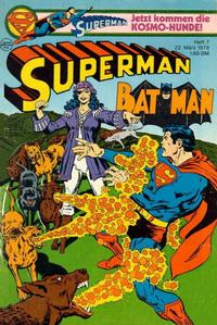 Cover Thumbnail for Superman (Egmont Ehapa, 1966 series) #7/1978
