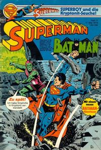 Cover Thumbnail for Superman (Egmont Ehapa, 1966 series) #11/1978