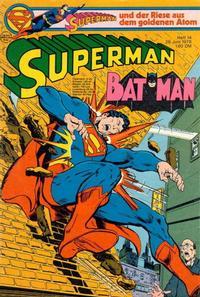 Cover Thumbnail for Superman (Egmont Ehapa, 1966 series) #14/1978