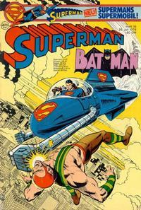 Cover Thumbnail for Superman (Egmont Ehapa, 1966 series) #16/1978
