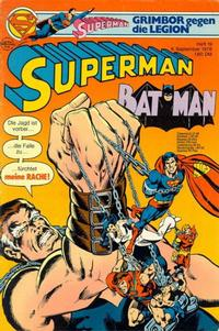 Cover Thumbnail for Superman (Egmont Ehapa, 1966 series) #19/1978