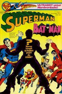 Cover Thumbnail for Superman (Egmont Ehapa, 1966 series) #1/1979