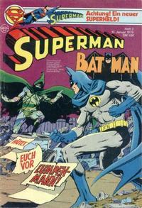 Cover Thumbnail for Superman (Egmont Ehapa, 1966 series) #2/1979