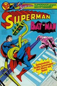 Cover Thumbnail for Superman (Egmont Ehapa, 1966 series) #4/1979