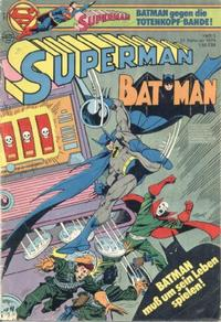 Cover Thumbnail for Superman (Egmont Ehapa, 1966 series) #5/1979