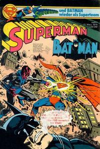 Cover Thumbnail for Superman (Egmont Ehapa, 1966 series) #7/1979