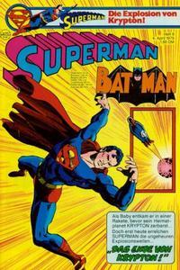 Cover Thumbnail for Superman (Egmont Ehapa, 1966 series) #8/1979