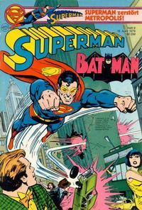 Cover Thumbnail for Superman (Egmont Ehapa, 1966 series) #9/1979