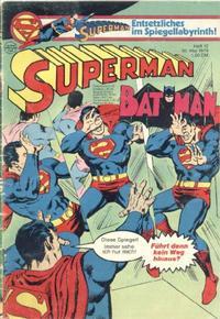 Cover Thumbnail for Superman (Egmont Ehapa, 1966 series) #12/1979
