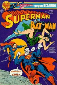 Cover Thumbnail for Superman (Egmont Ehapa, 1966 series) #17/1979